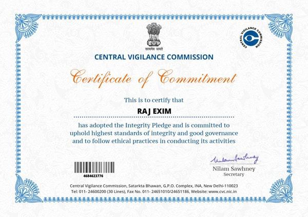 comitment_certificate